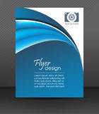 Professional business flyer template or corporate banner, cover design. Can be used for print, publishing or working presentation, design for your creative royalty free illustration