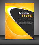 Professional business flyer template or corporate banner Stock Image