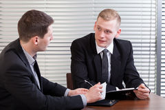 Professional business meeting Stock Images