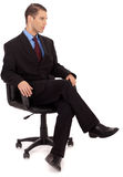 Professional business men sitting Stock Images