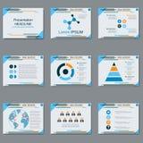 Professional business presentation, slide show vector template. Professional business presentation, slide show vector design template Royalty Free Stock Images
