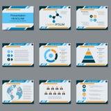Professional business presentation, slide show vector template. Professional business presentation, slide show vector design template Royalty Free Stock Image