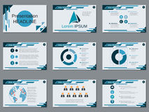 Professional business presentation, slide show vector template. Professional business presentation, slide show vector design template Stock Images