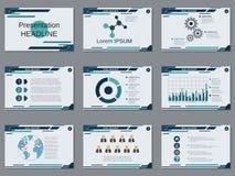 Professional business presentation, slide show vector template. Professional business presentation, slide show vector design template Royalty Free Stock Photography