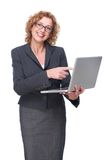 Professional Business Smile stock images