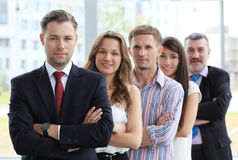Professional business team stock image