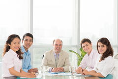 Professional business team Royalty Free Stock Photos