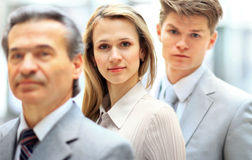 A professional business team Royalty Free Stock Photography