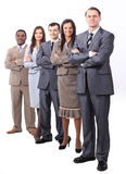 Professional business team.photo in full growth. Group of business people. successful business team stock image