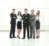Professional business team.photo in full growth. Photo with place for text stock photo