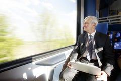 Professional businessman traveling Stock Photos