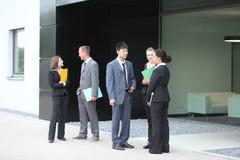 Professional businesspeople Stock Photo