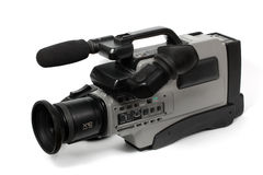 Professional camcorder royalty free stock photos