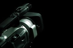 Professional camcorder Royalty Free Stock Photography