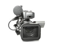Professional camcorder royalty free stock images
