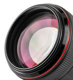 Professional camera lens Stock Image