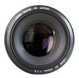 Professional Camera Lens. 50 mm Royalty Free Stock Photo