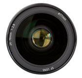 Professional Camera Lens. 24-70 mm Royalty Free Stock Photography