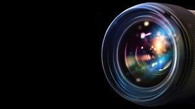 Professional camera lens Royalty Free Stock Image