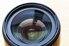 Professional camera lense isolated on white background Royalty Free Stock Image