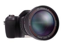 Professional Camera Over White Stock Photos