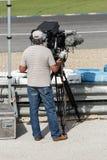 Professional cameraman Stock Photo