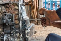 Professional car mechanic Stock Images