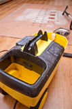 Professional carpet cleaning machine Royalty Free Stock Photo