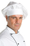 Professional chef smiling Stock Photos