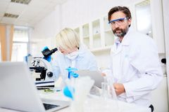 Chemical research Royalty Free Stock Image