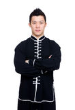 Professional chinese kung fu teacher Stock Photo