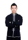 Professional chinese kung fu teacher stock photo