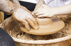 Professional clay Royalty Free Stock Image