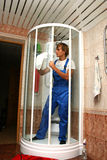Professional cleaning Stock Images