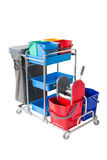 Professional cleaning Cart Stock Image