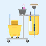 Professional cleaning equipment isolated vector home cleanup vacuum housekeeping service cleaning equipment housework Stock Photo