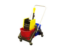 Professional Cleaning Equipment Stock Photo