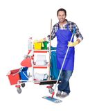 Professional cleaning service Royalty Free Stock Photos