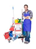 Professional cleaning service Royalty Free Stock Photography