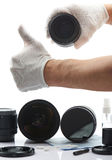 Professional cleaning sevice Stock Image