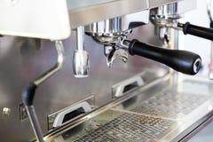Professional coffee machine Royalty Free Stock Image