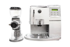 Professional coffee machine Stock Photography
