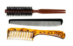 Professional comb set Royalty Free Stock Images