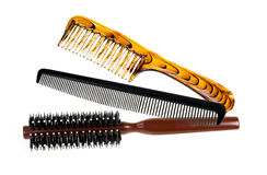 Professional comb set Royalty Free Stock Photo
