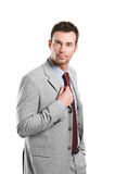 Professional confident businessman Stock Image