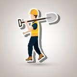 Professional construction design Stock Image