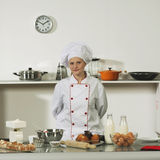 Professional cook. Cooking Royalty Free Stock Photography