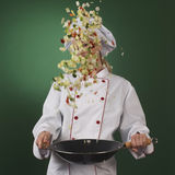 Professional cook. Cooking Stock Photography