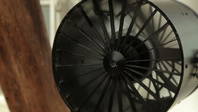 Professional cooling fan stock video footage