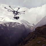 The professional copter Royalty Free Stock Images